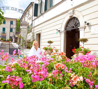 Enjoy relaxing moments in the Hotel's private courtyard